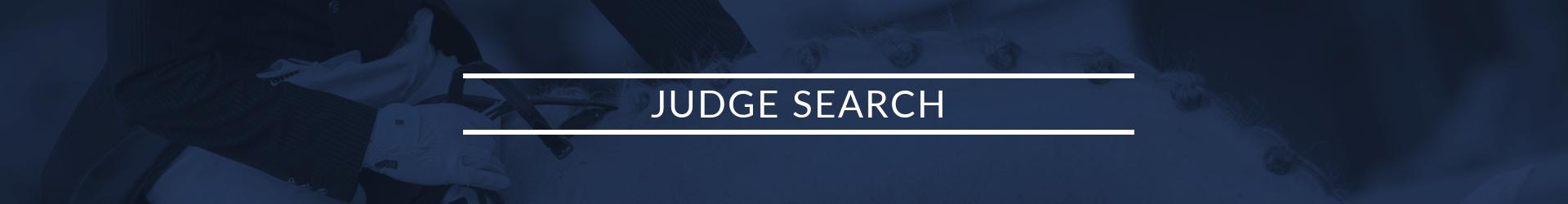 Judge search